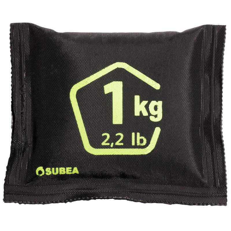 Гибкий утяжелитель 1 кг