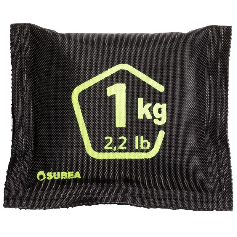1kg soft lead shot diving weight