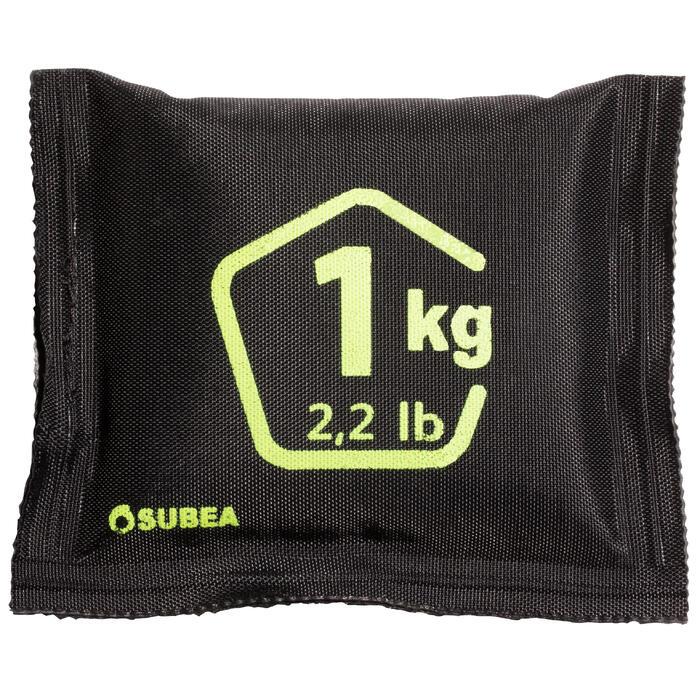 Flexibles Tauch-Gewicht Softblei mit Bleigranulat Tauchen 1kg