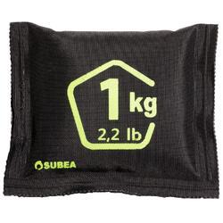 Flexibles Tauch-Bleigewicht Softblei mit Bleigranulat Tauchen 1kg