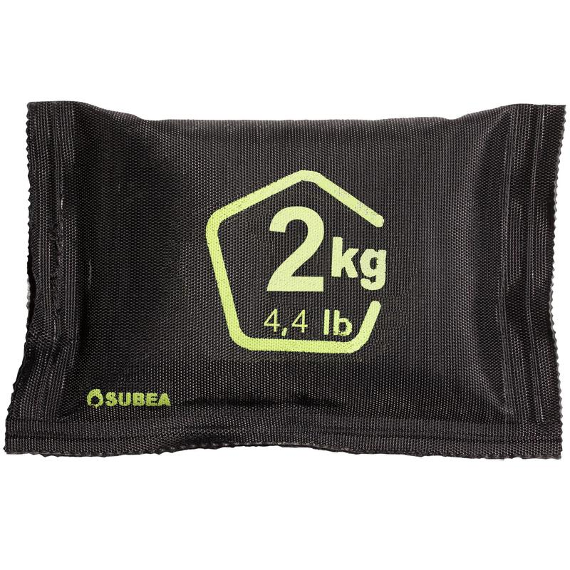 2 kg soft lead shot diving weight