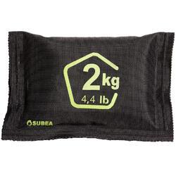 Flexibles Tauch-Bleigewicht Softblei mit Bleigranulat Tauchen 2kg