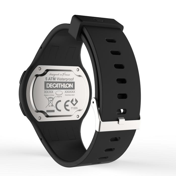 6c6f7439a5ca Reloj Cronómetro Running Kalenji W100 M Hombre Negro Kalenji