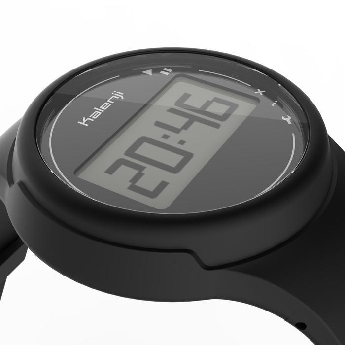 Montre chronomètre de course à pied homme W100 M noire - 1327844