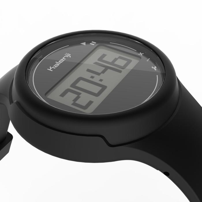 Montre chronomètre de course à pied femme et junior W100 S noire - 1327852