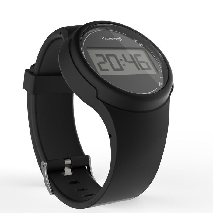 Montre chronomètre de course à pied homme W100 M noire - 1327860