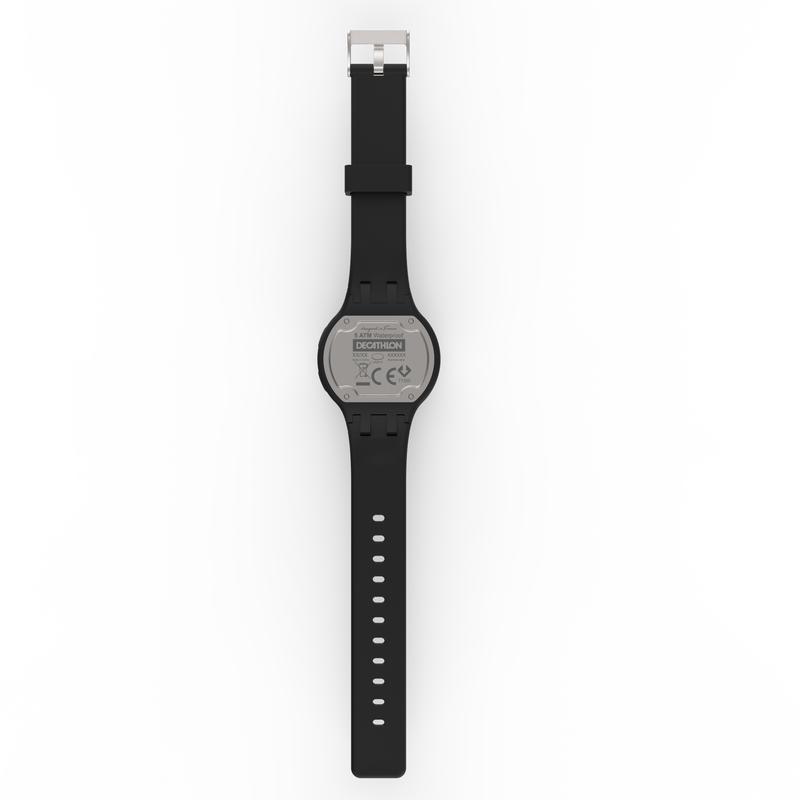 Reloj cronómetro running mujer / niños W100 S negro