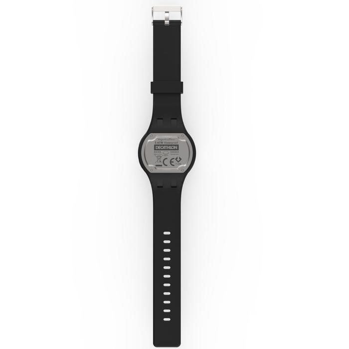 Montre chronomètre de course à pied homme W100 M noire - 1327868