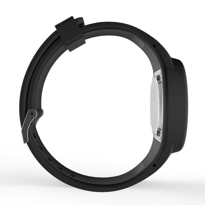 Montre chronomètre de course à pied homme W100 M noire - 1327874