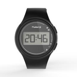 Reloj Cronómetro Running Kalenji W100 M Hombre Negro