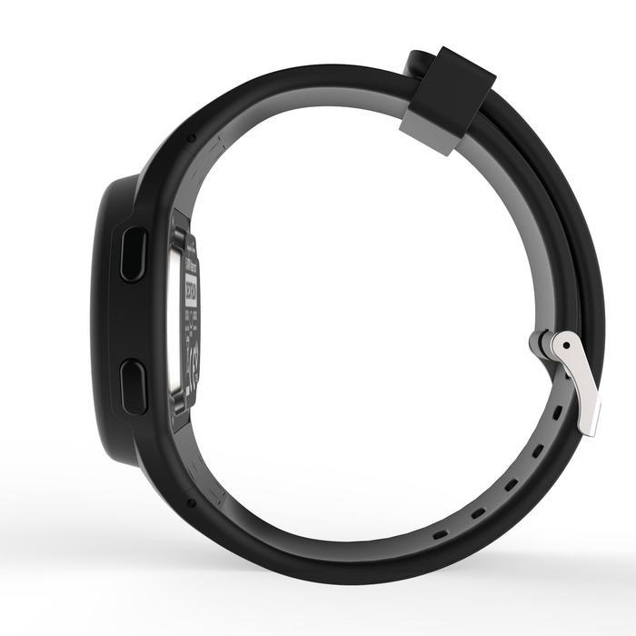 Montre chronomètre de course à pied homme W100 M noire - 1327879