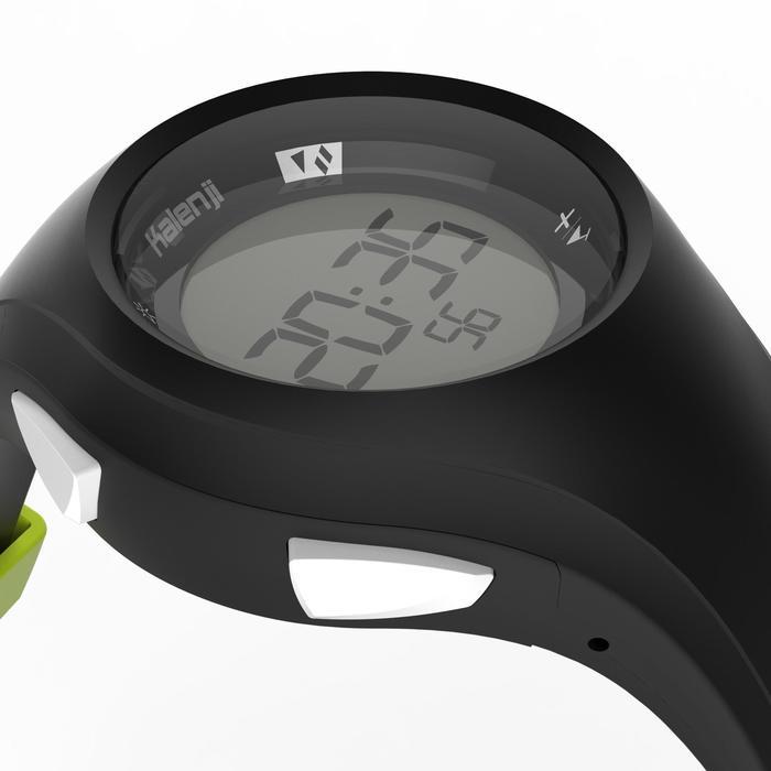 Reloj cronómetro running W200 M negro y amarillo