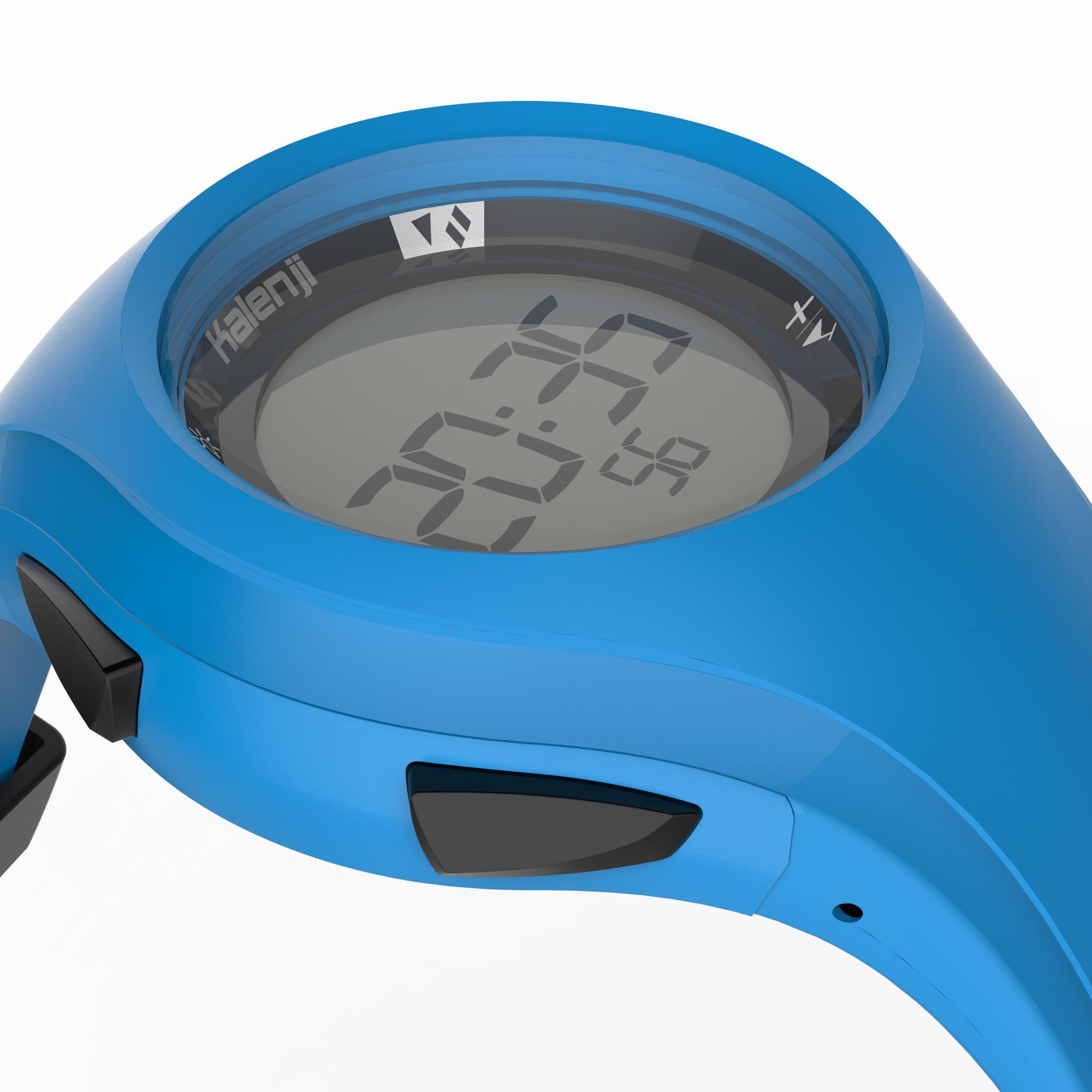 zapatos deportivos bb1e9 cc21f Reloj digital deportivo para hombre W200 M temporizador azul