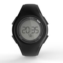 Hardloophorloge met stopwatch W200 M zwart