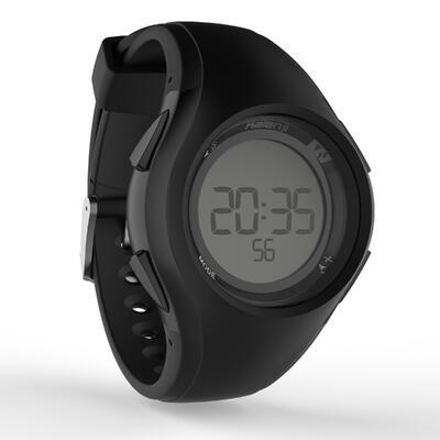 Reloj deporte hombre W200 M timer negro