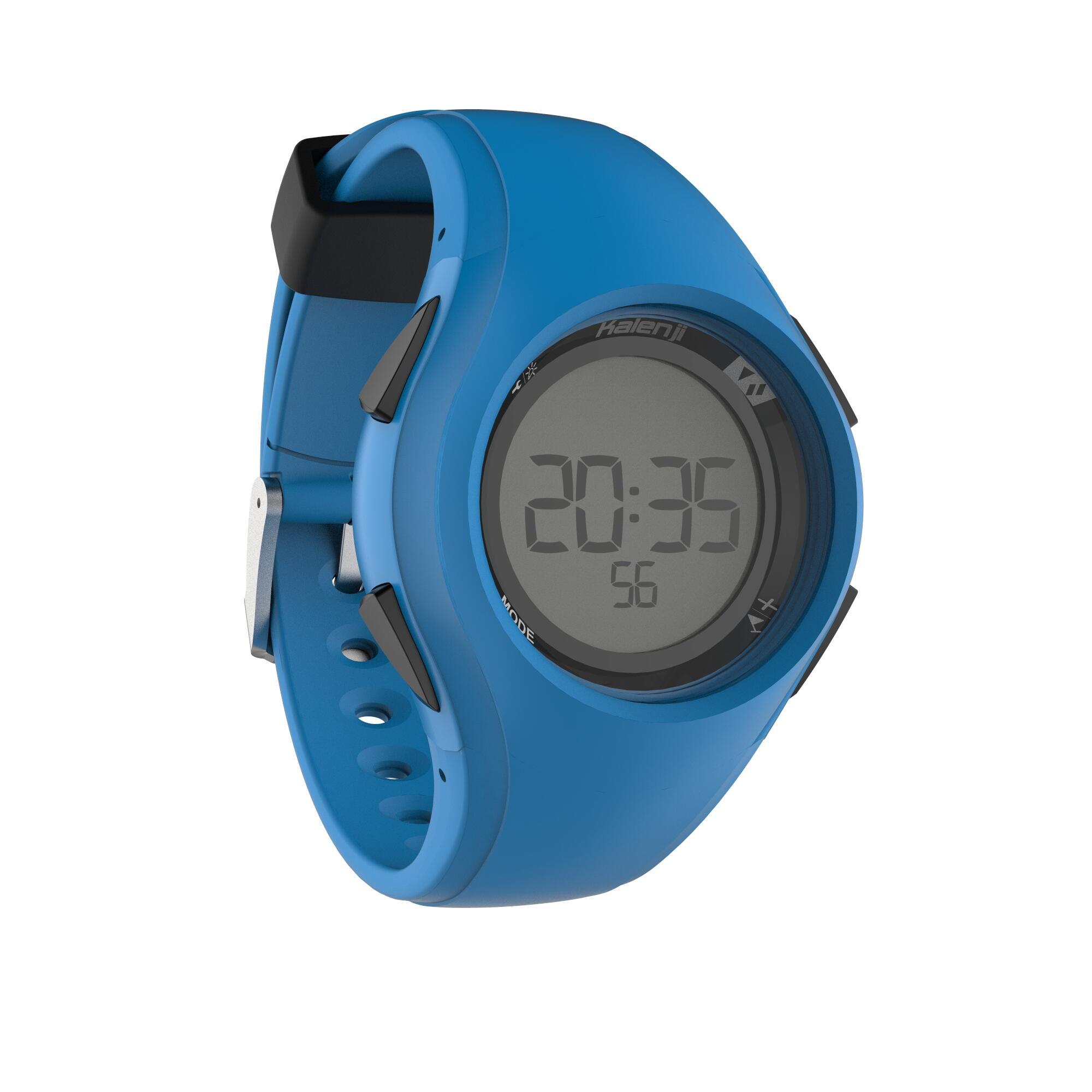 Reloj digital deportivo para hombre W200 M temporizador azul