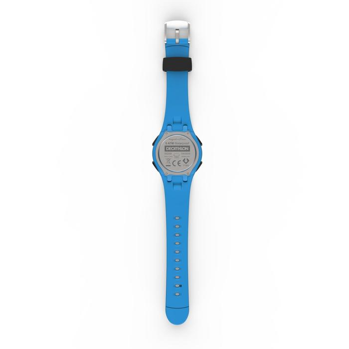 Stopwatch horloge voor hardlopen heren W200 M blauw
