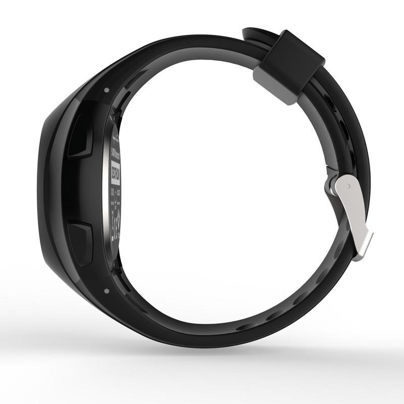 นาฬิกาจับเวลาขณะวิ่งสำหรับผู้ชายรุ่น W200 M (สีดำ)