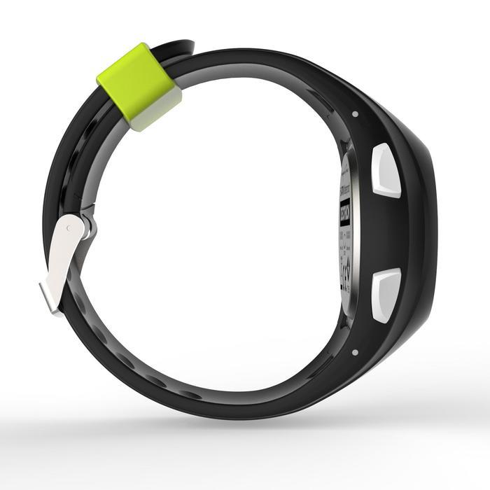 Hardloophorloge met stopwatch W200 M zwart en geel