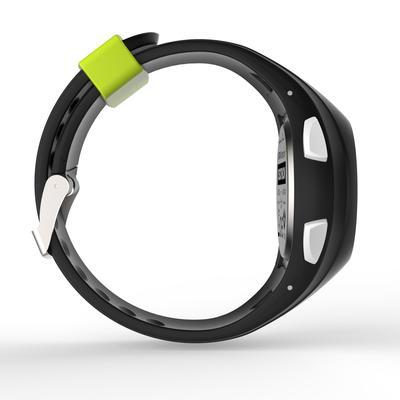 ساعة رقمية رياضية W200 M - سوداء أخضر