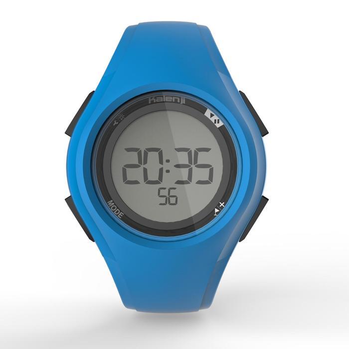 Montre chronomètre de course à pied W200 M bleue