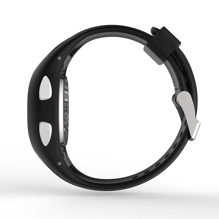 Horloge met stopwatch W200 S zwart