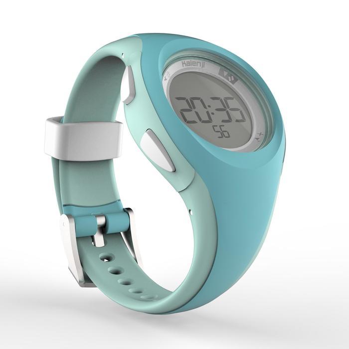 Reloj cronómetro de running W200 S verde pastel
