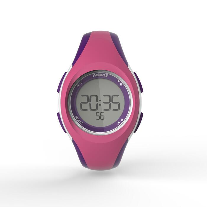 Montre digitale sport femme et junior W200 S noire - 1328047