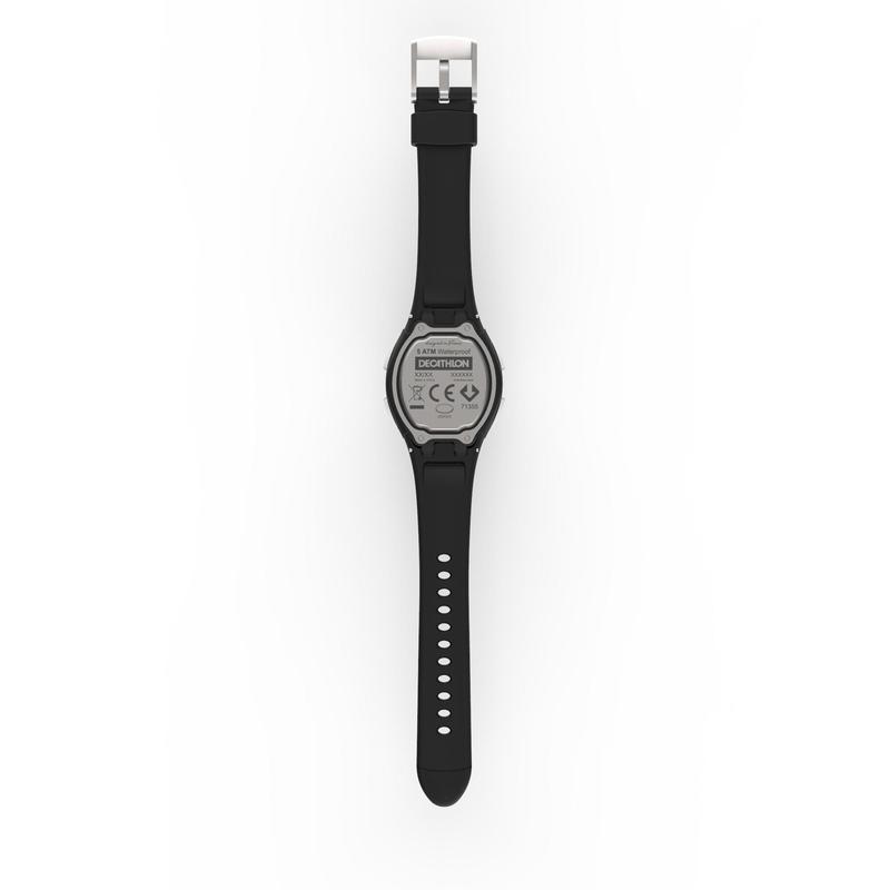 Đồng hồ thể thao kỹ thuật số W200 S Swip cho nữ và trẻ em - Đen