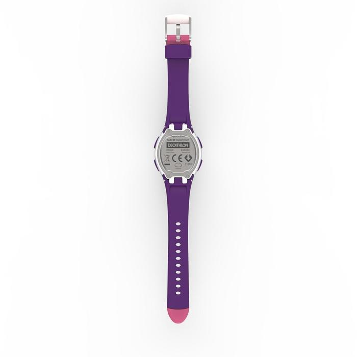 Sportuhr W200S Damen/Kinder rosa/violett
