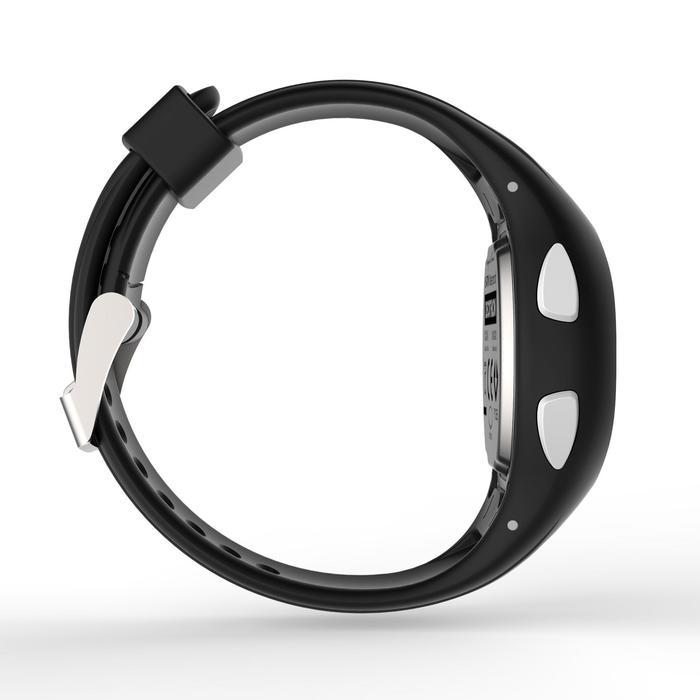 Hardloophorloge met stopwatch W200 S zwart