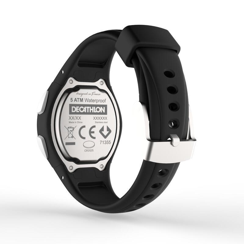 el precio más bajo 0f5e7 9d061 Reloj deportivo mujer/junior W200 S cuenta regresiva negro
