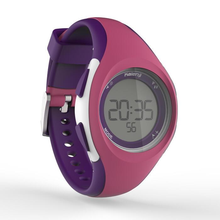 Montre digitale sport femme junior W200 S timer bleu & - 1328083
