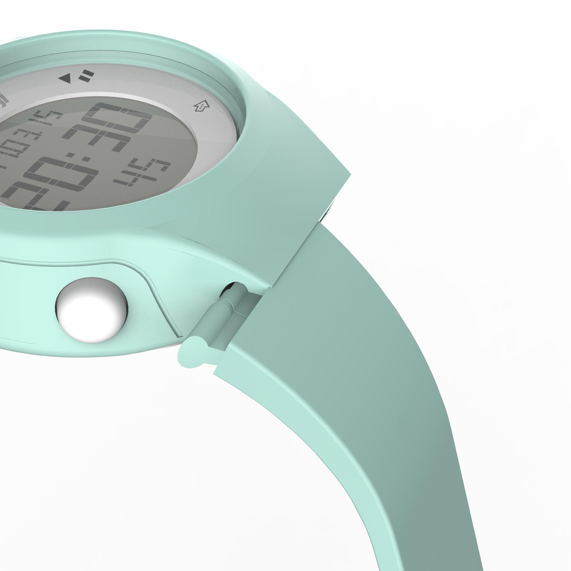 47376b660b5d Reloj digital de deporte mujer y junior temporizador W500 S swip VERDE  PASTEL