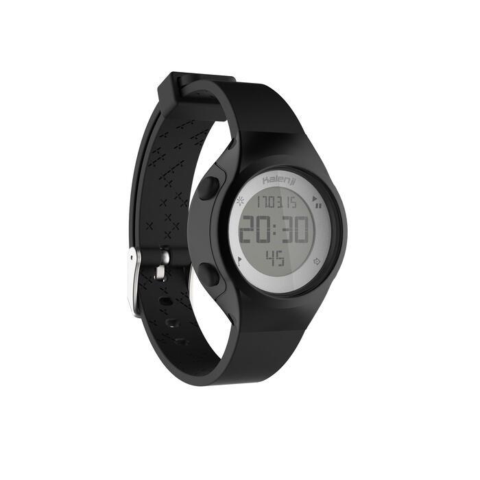 Montre chronomètre de course à pied femme W500 S NOIRE - 1328145
