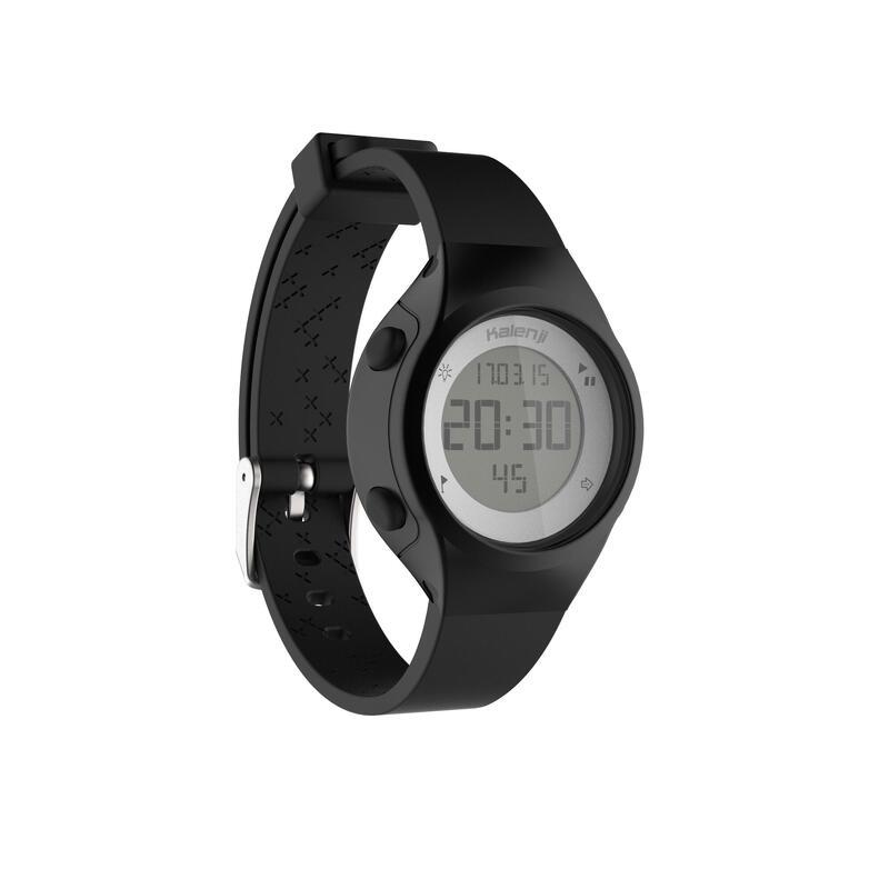 Relógio cronómetro de corrida Mulher W500 S PRETO