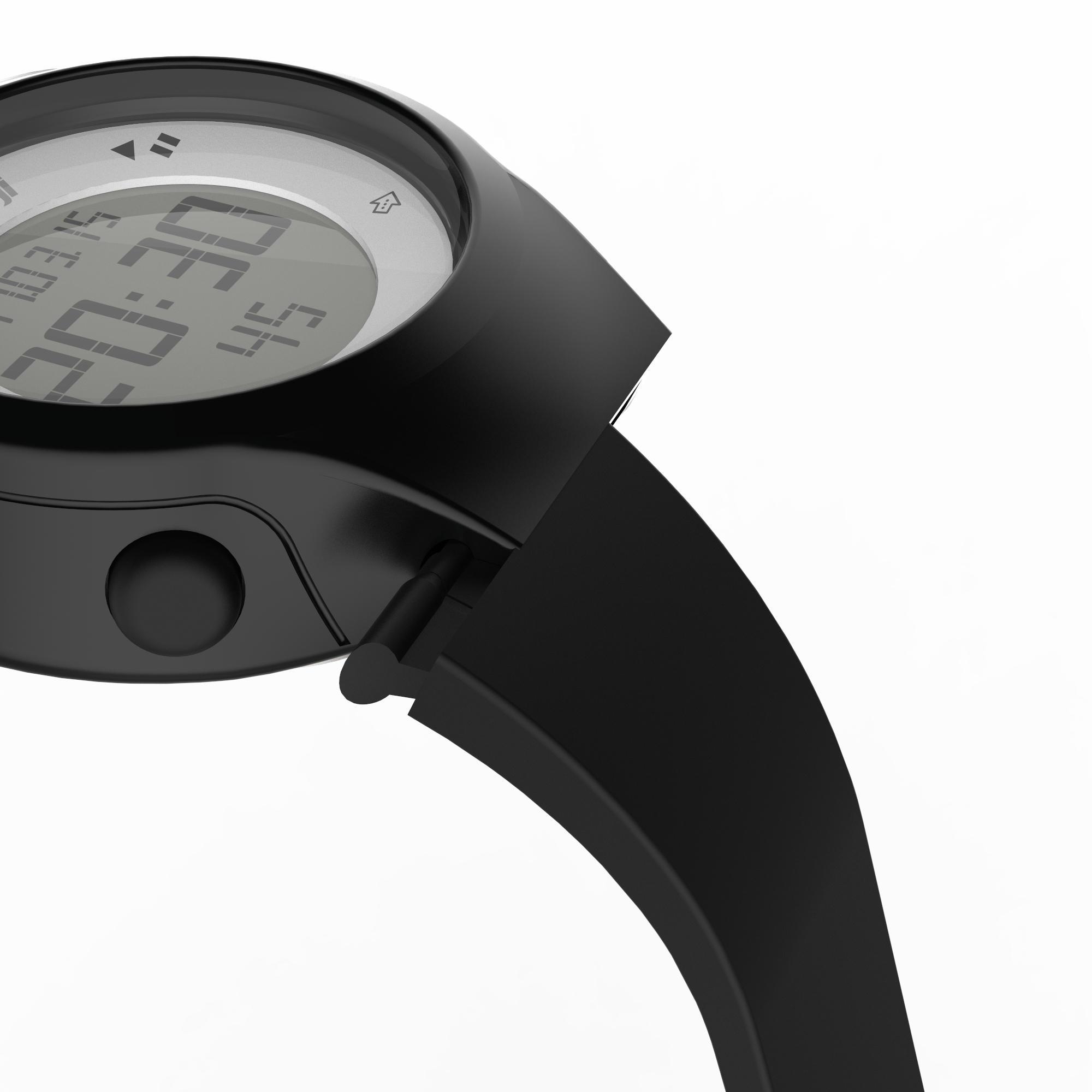 en venta f747f 5c9fc Reloj digital de deporte mujer y junior temporizador W500 S swip NEGRO