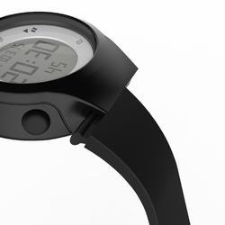 Montre chronomètre de course à pied femme W500 S NOIRE