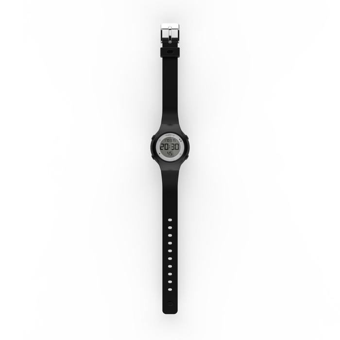 Horloge met stopwatch W500 S zwart