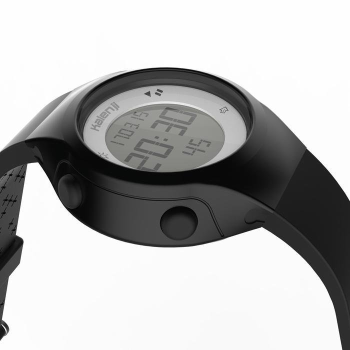 Montre chronomètre de course à pied femme W500 S NOIRE - 1328151