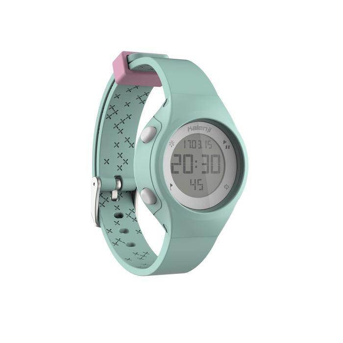 Montre chronomètre de course à pied femme W500 S NOIRE - 1328153