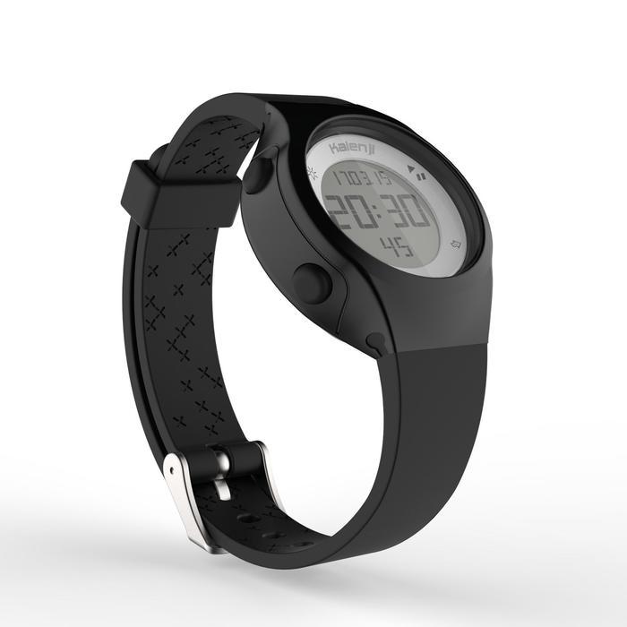 Montre chronomètre de course à pied femme W500 S NOIRE - 1328156