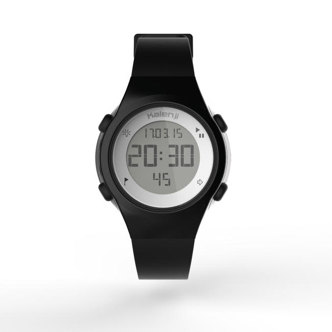 W500 S women's running watch BLACK