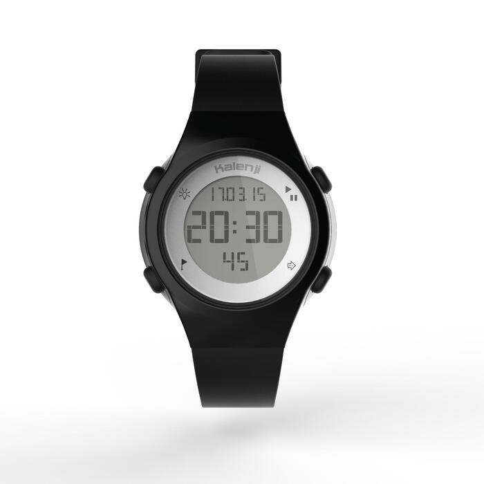 Montre chronomètre de course à pied femme W500 S NOIRE - 1328158