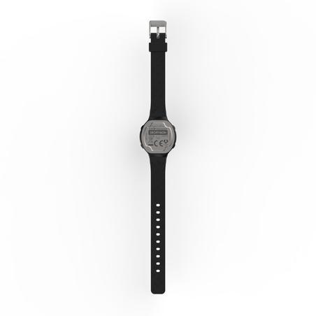 Montre chronomètre de course à pied femme W500 P NOIRE