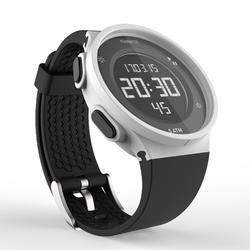 男款跑步碼錶W500 M白色數字顯示