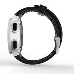 Montre chronomètre de course à pied W500 M blanche écran reverse