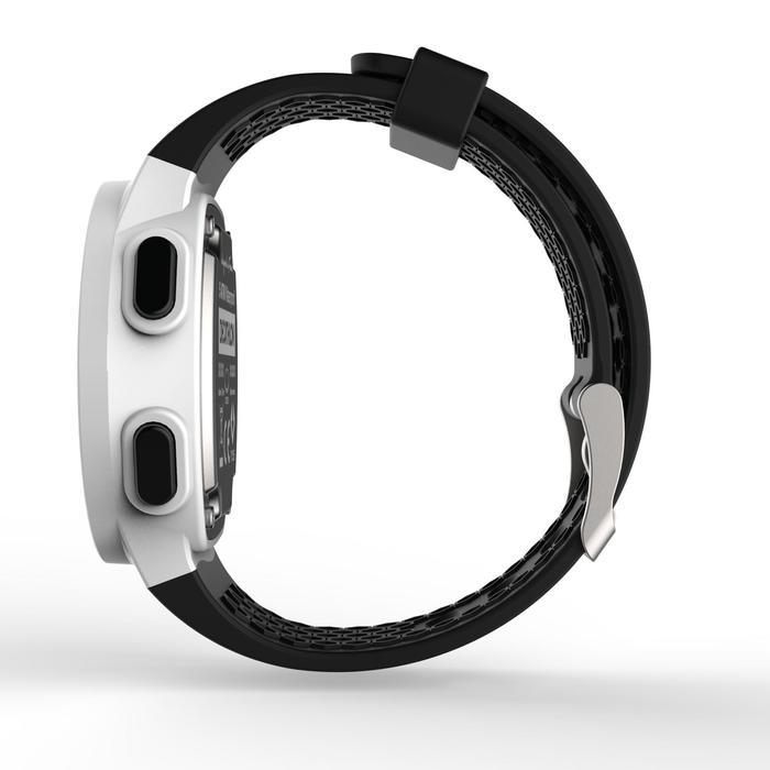 Montre chronomètre de course à pied homme W500 M noire reverse - 1328187