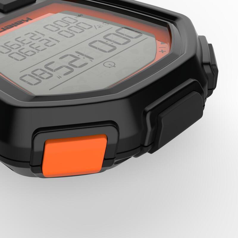 Cronómetro deportivo ONstart 310 negro naranja