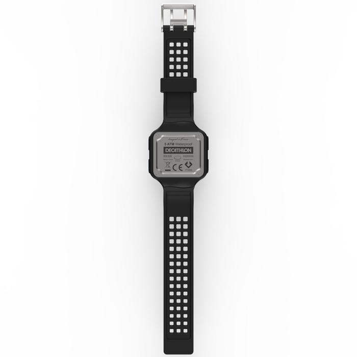 Montre chronomètre de course à pied homme W500+ M noire - 1328207